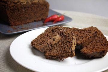 Plumcake al cioccolato piccante