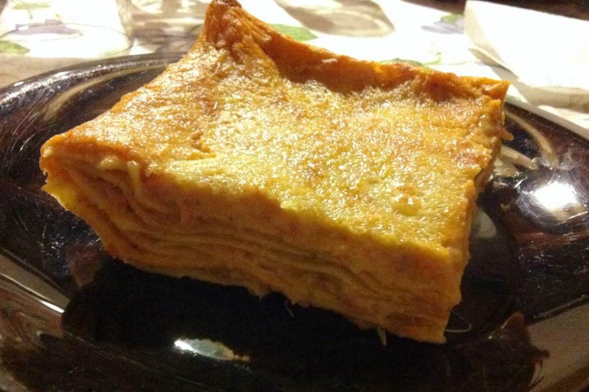 Lasagne al pomodoro e mozzarella