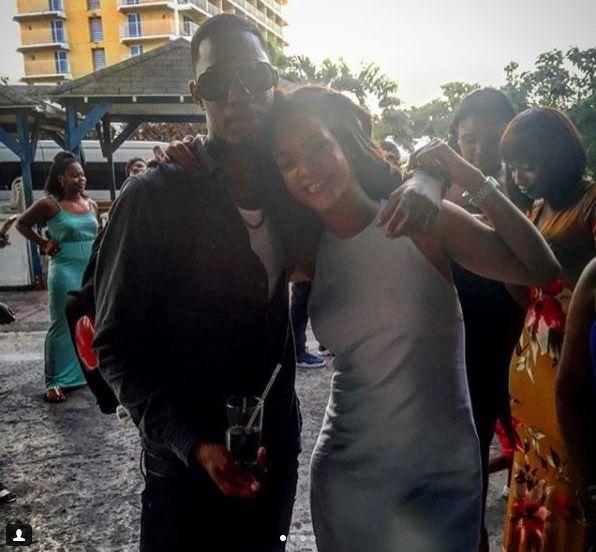 Alleyne and Rihanna Instagram