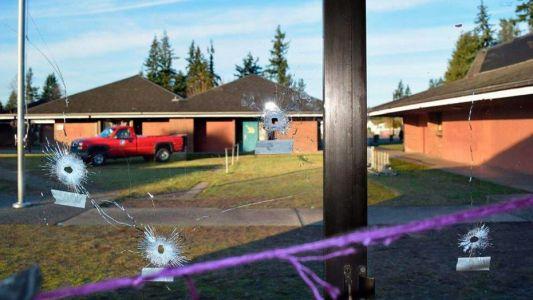 bullet-holes-Pinewood Elementary School