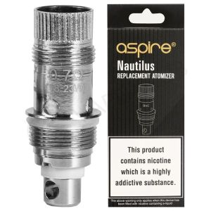 Nautilus 1.8 Ohm Coils X5 By Aspire
