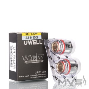 Valyrian A1 0.15ohm Coils X2 By Uwell