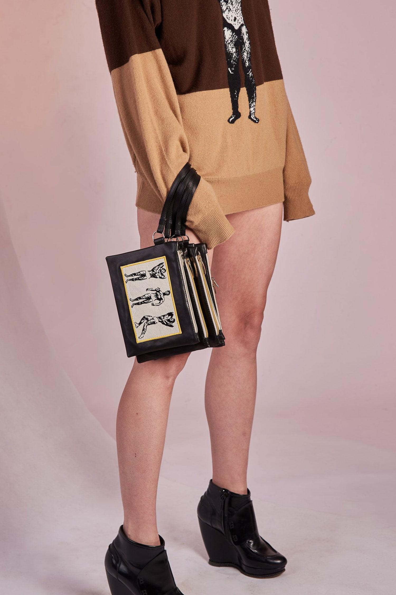 AW2018-19 Clutch Bag / Torebka Skorzana