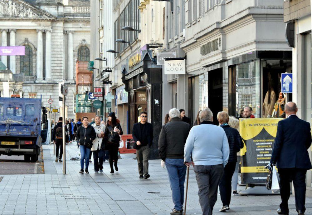 Belfast transeúntes (1)