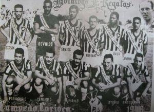 1948 - Botafogo campeão carioca