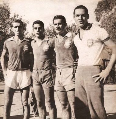 F 08 - CACavalheiro - Castilho, CAlberto, Ernani e  Gilmar