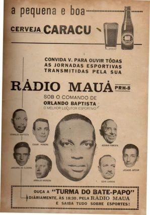 F 03 - 1965 - Rádio Mauá - equipe esportiva