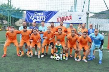 Rádio Globo - Vice Campeã da Copa ACERJ - Itaipava