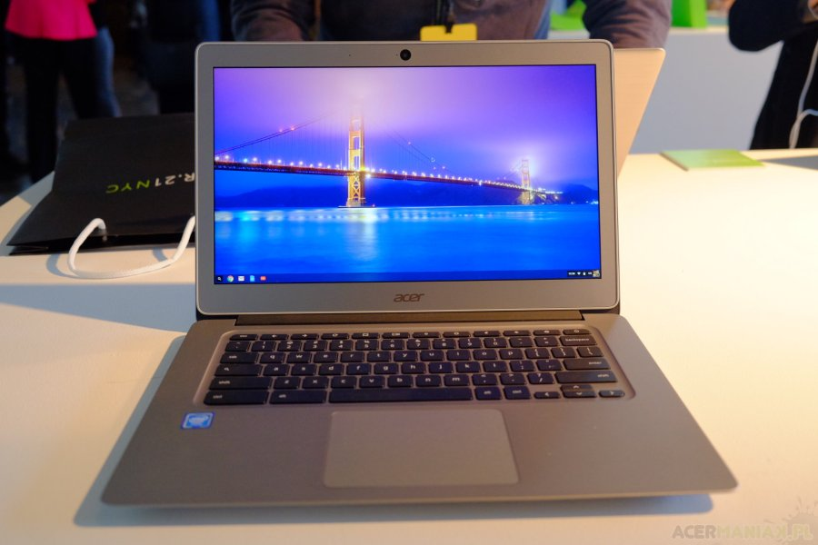 Acer Chromebook 14 for Work / fot. acerManiaK.pl