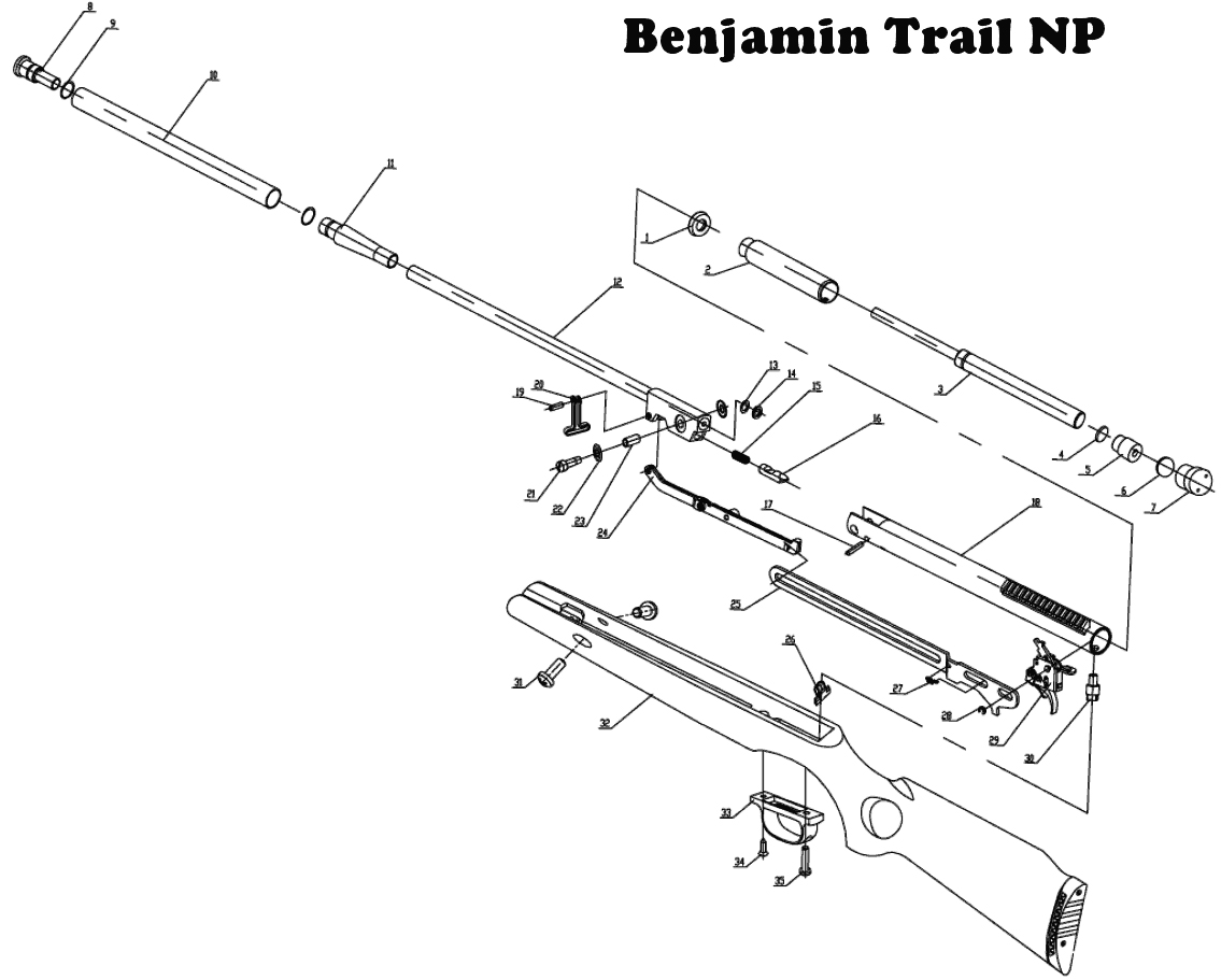 Benjamin Trail Np Xl Air Rifle Price In India Ixledger