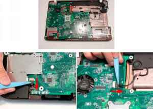 Removing the RTC Battery  Acer Aspire 8942 8942G