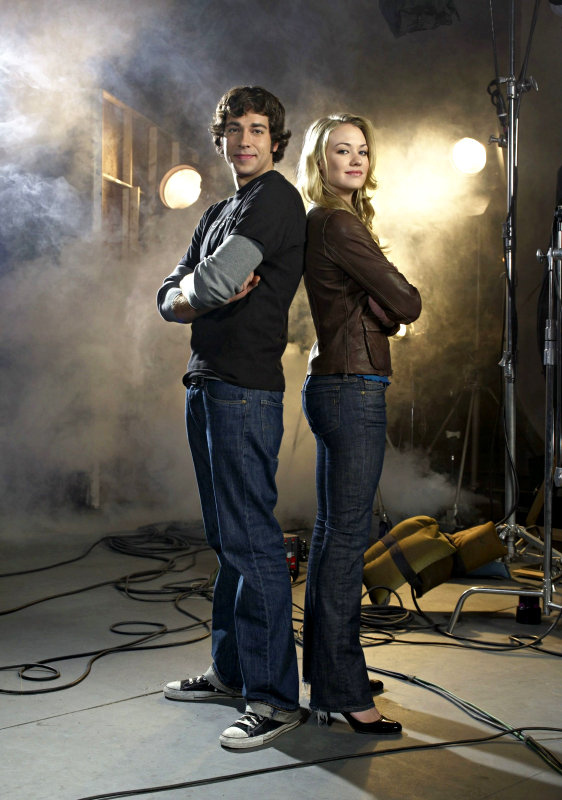 Preview of 'Chuck' 2.21: Chuck and Sarah Making Out