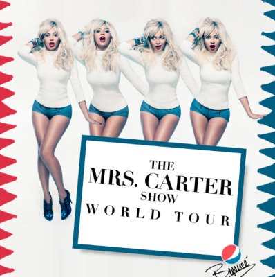 Beyonce Goes Blonde in New Promo Pic for Mrs. Carter Show World Tour