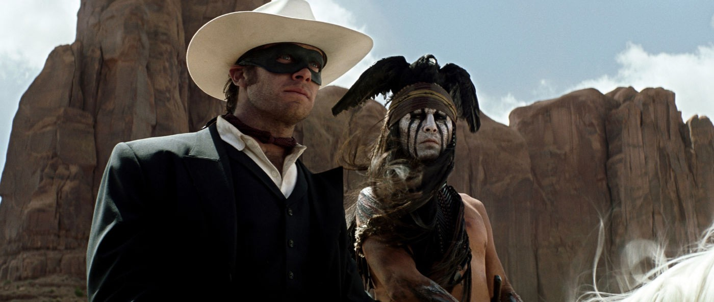 armie hammer, johnny depp, the lone ranger
