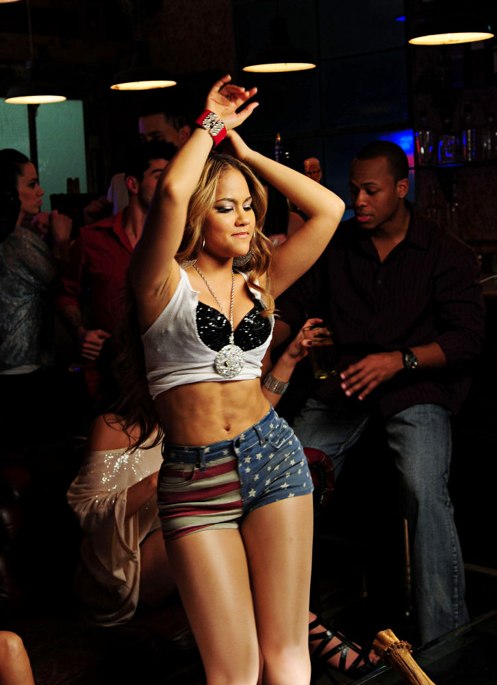 Pictures Kat DeLuna Shooting Dancing Tonight Music Video
