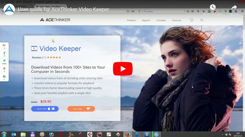 Video Keeper herunterladen App