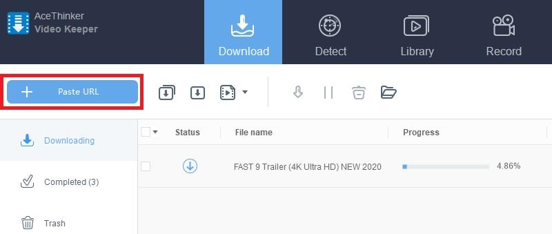 4k video download vk starte den Download