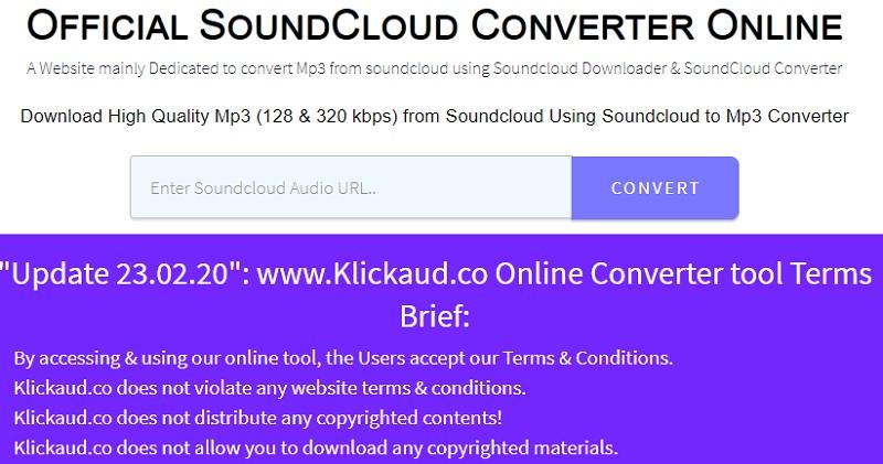 download soundcloud klickaud