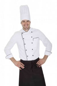 Chef in a chef's jacket