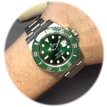 "Rolex Gents Submariner ""Hulk"""