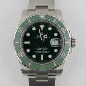 "Rolex Submariner 116610LV ""Hulk"""