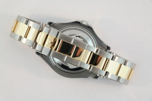 Midsize Rolex Yacht-Master 168623 Champagne