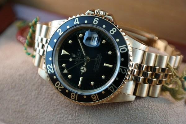 "Vintage Rolex GMT-Master 16758 ""Nipple"" Dial"