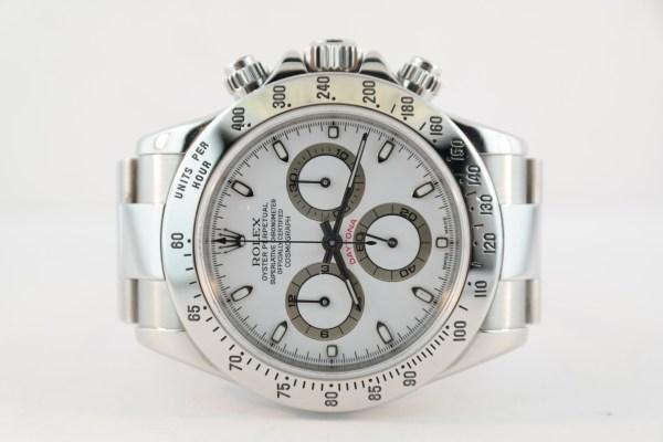 Rolex Daytona 116520 White Dial