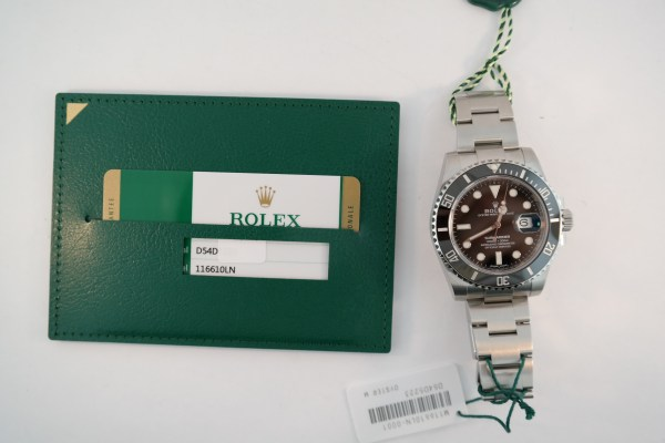 Rolex Submariner Date 116610LN Ceramic 2019