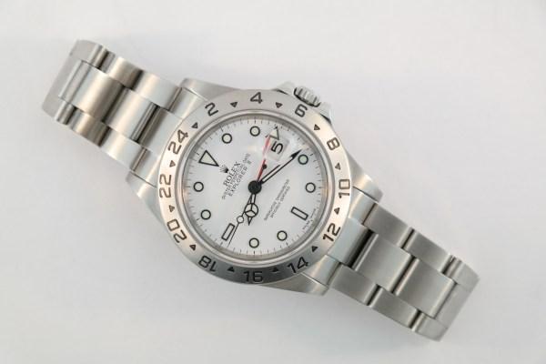 Rolex Explorer II 16570T Polar Dial