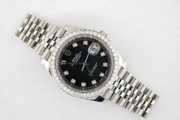 Rolex Datejust 41 126334 Black Diamond Dial