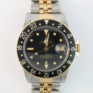Rolex GMT Master 16753 Black Nipple Dial
