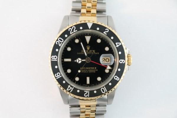 Rolex GMT-Master II 16713 Black Dial