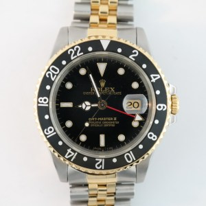 Rolex GMT-Master II 16713 Black Dial