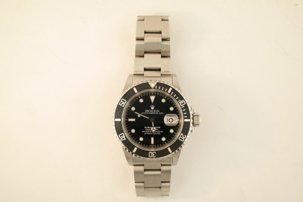 Rolex Submariner 16610 Black Dial & Bezel 1999