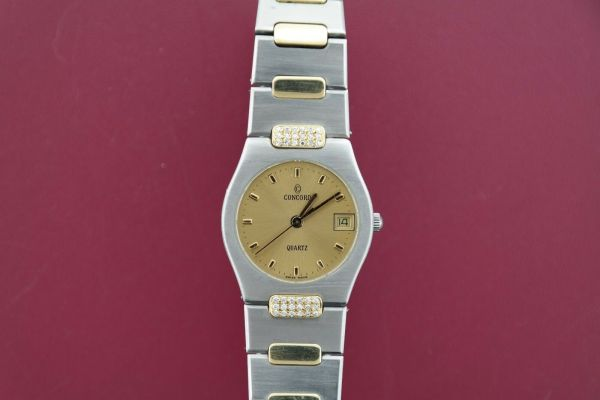 Ladies Concord 18K Gold Plate Two-Tone Freedom Watch 15.57.263
