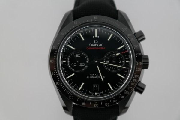 Omega Speedmaster Dark Side of the Moon 311.92.44.51.01.007 Black Ceramic Nylon Strap