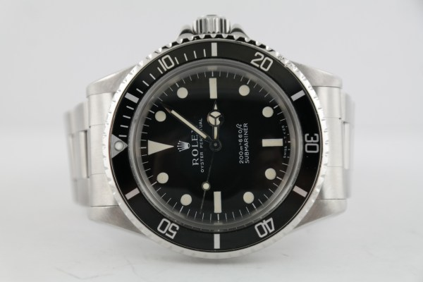 "Vintage Rolex Submariner 5513 ""Meters First"" Matte Black Tritium Dial Circa 1967"