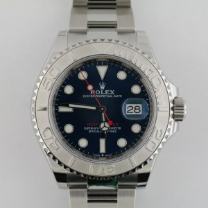 Men's Rolex Yacht-Master 126622 Blue Dial 40mm Platinum Bezel Oyster Band 2020