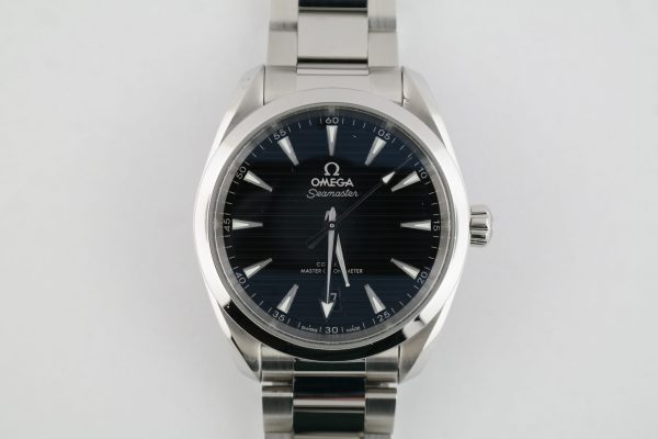 Omega Seamaster Aqua Terra 220.10.38.20.01.001 Black Dial Stainless Steel 38mm