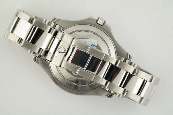 Mens Rolex Yacht-Master 16622 Platinum Dial Oyster Band Platinum Bezel Year 1999