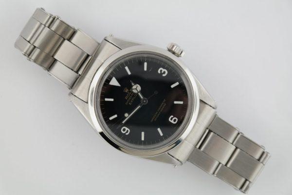 "Vintage Rolex Explorer 1016 ""Stretchy"" Rivet Oyster Band Black Dial Circa 1967"