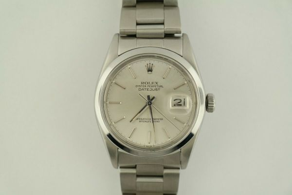 Rolex Datejust 16000 Silver Dial Oyster Band Stainless Steel