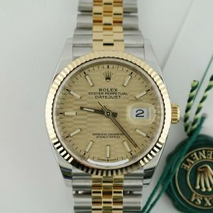 """Rolex Datejust 36 126233 Motif Fluted Dial Jubilee Band """"Honeycomb"""""""