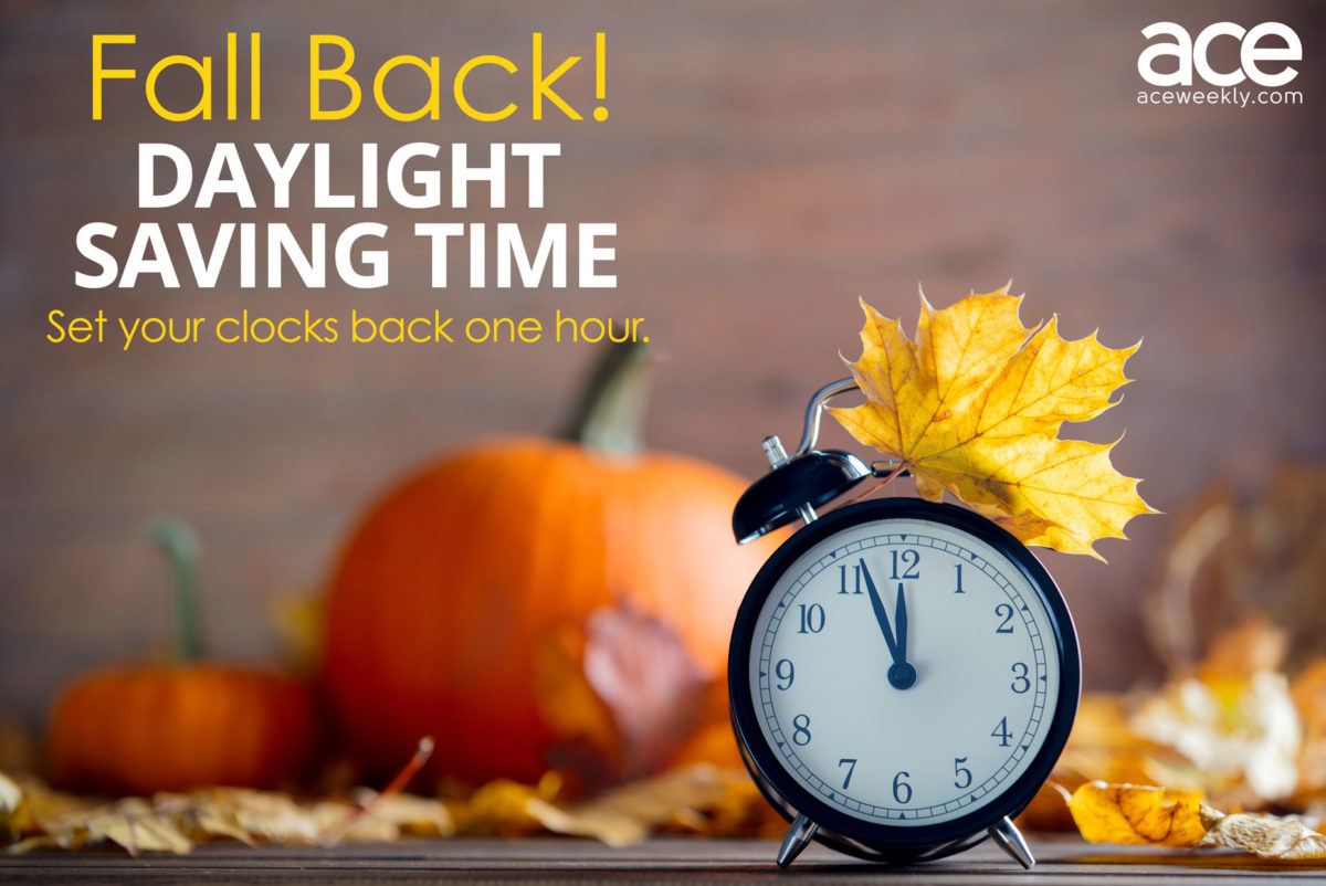 When Does The Time Change For Fall Daylight Saving Time