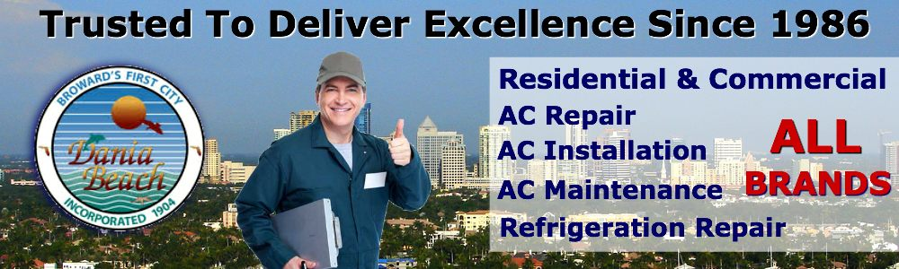 ac repair service dania beach fl