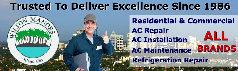 wilton manors air conditioning repair service 24 hour emergency