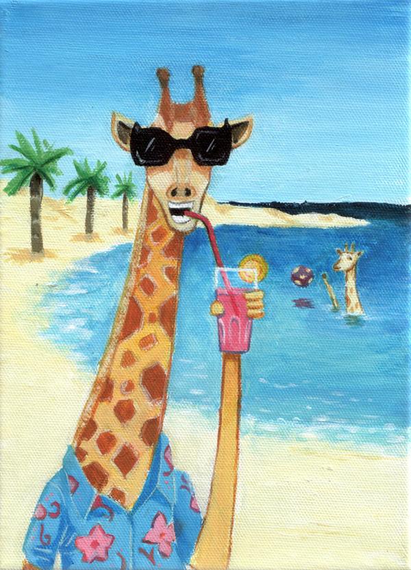 Giraffe au club med