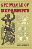Durbach Nadja,<i> Spectacle of Deformity. Freak Shows and Modern British Culture,</i> University of California Press, 2009.