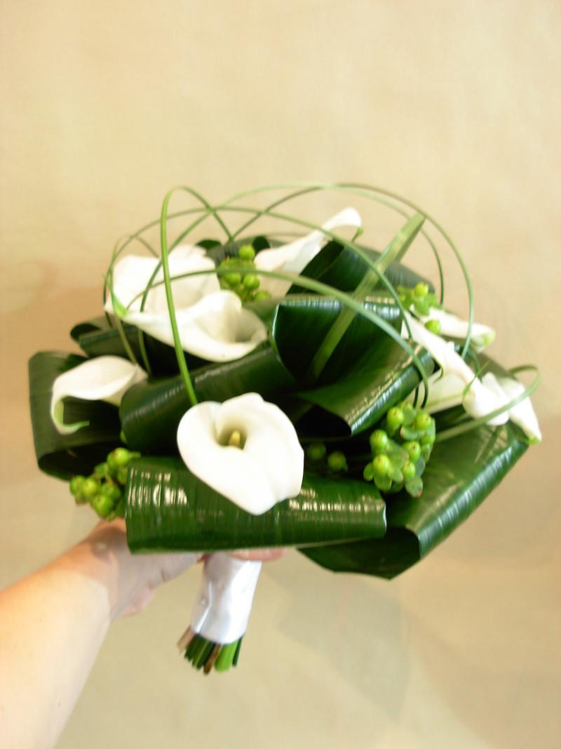 Bouquet De Callas Petits Arums Des Fleuristes FLORA